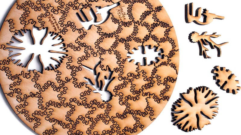 Like Snowflakes, No Two Of These Complex Fractal Puzzles Are Completely Alike