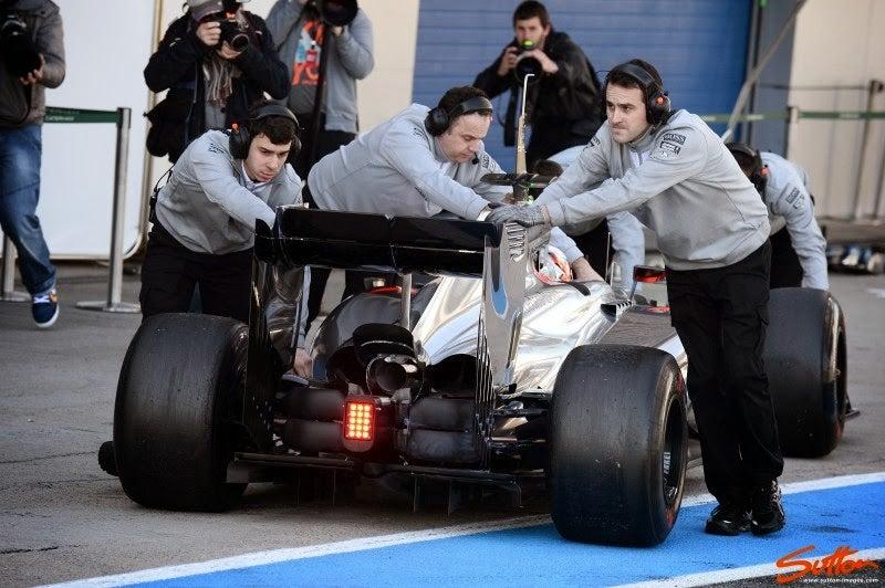 Technically Formula 1 - Jerez Testing Day 3