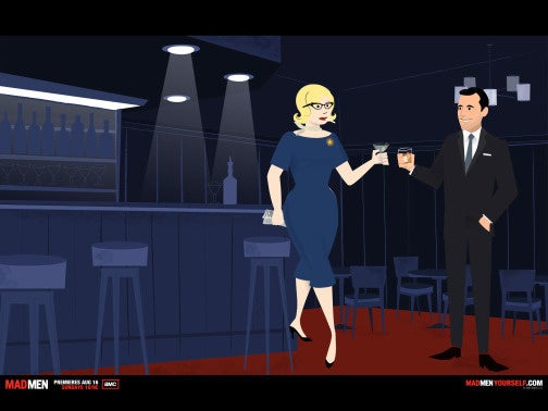 My Mad Men Avatar Is Awkward And Drunk