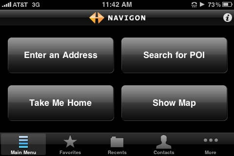 Navigon for iPhone Sucker-Punches TomTom With Text-to-Speech, iPod Controls