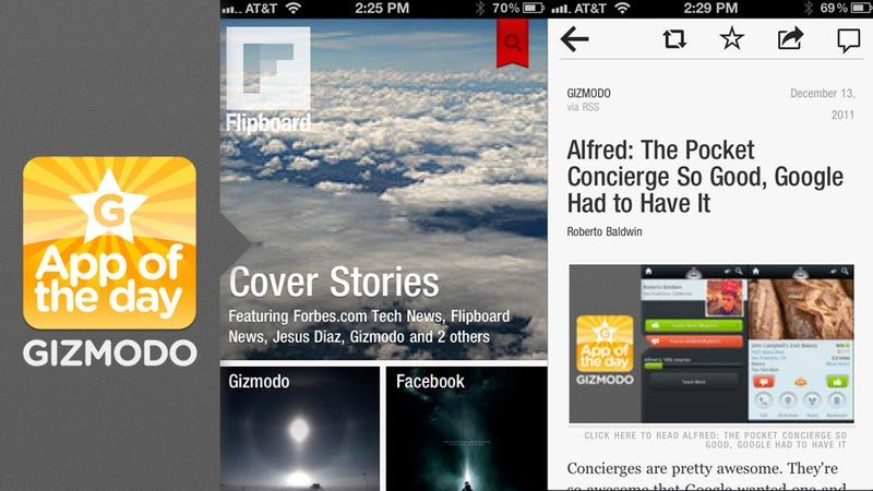 Flipboard for iPhone: Hold Me Closer Tiny Flipper
