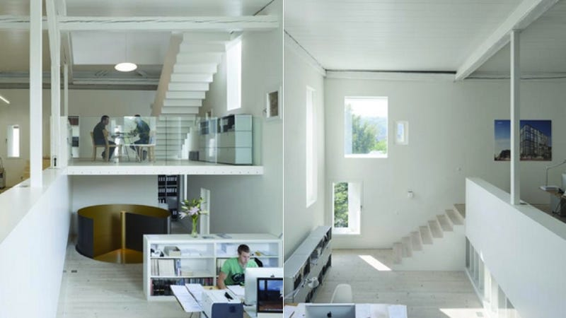 18th Century Swiss Farm House Is Reborn as Beautiful Live/Work Space