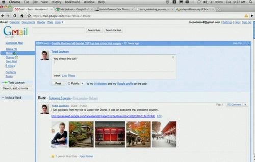 Google Buzz Gallery