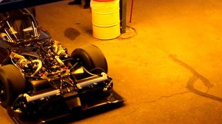 Naked Nissan LMP1 Car Shows Off Its Crazy Front-Engine Design