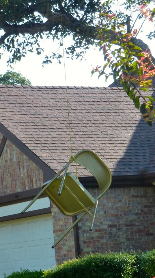 Texas Homeowner 'Lynches' Empty Chair Meant to Represent President Obama