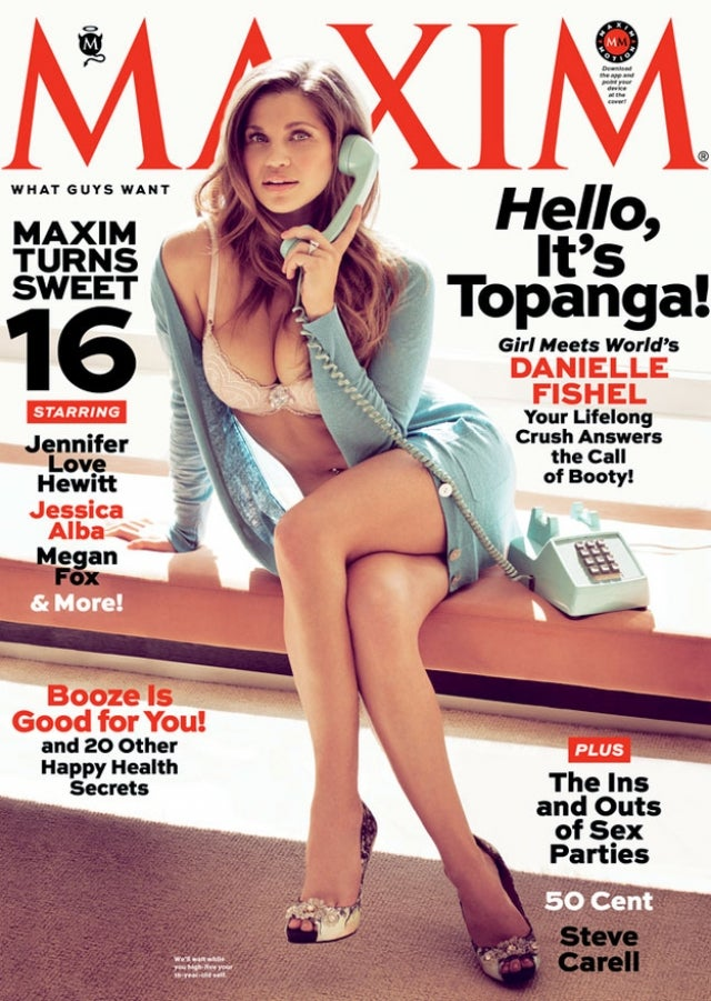 Boy Meets World Star Danielle Fishel Sheds Childhood Innocence, Clothes for Latest Issue of Maxim