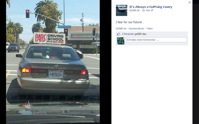 Amazing Facebook Page Shames The Most Boring Car On The Road