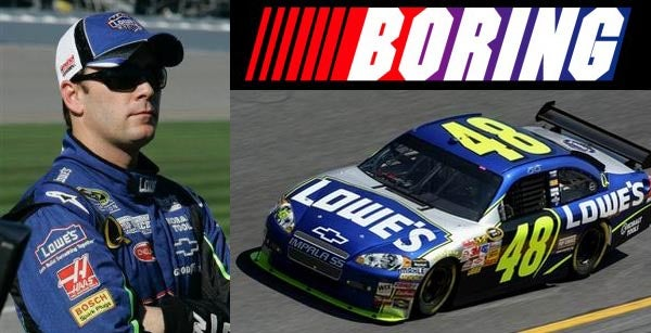 Reigning Champ Jimmie Johnson Takes Pole For Daytona 500, We Make Johnson Joke