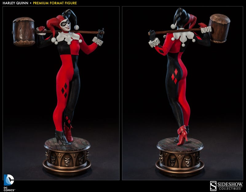 Everything Wonderfully Insane About Harley Quinn In One Perfect Figure