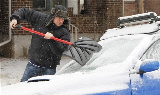 What's the Strangest Thing You've Used to Scrape Ice/Frost/Snow Off Your Windshield?