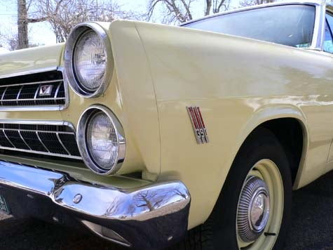 Down On The Street: '66 Mercury Comet Cyclone