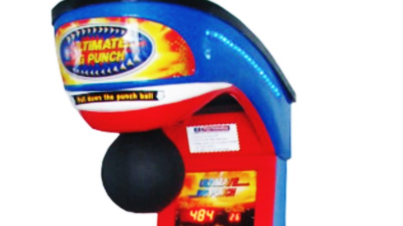 Why Arcade Punching Bags and Alcohol Don't Mix
