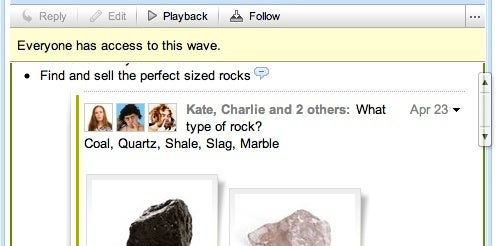 Embed Public or Private Google Waves on Any Web Site