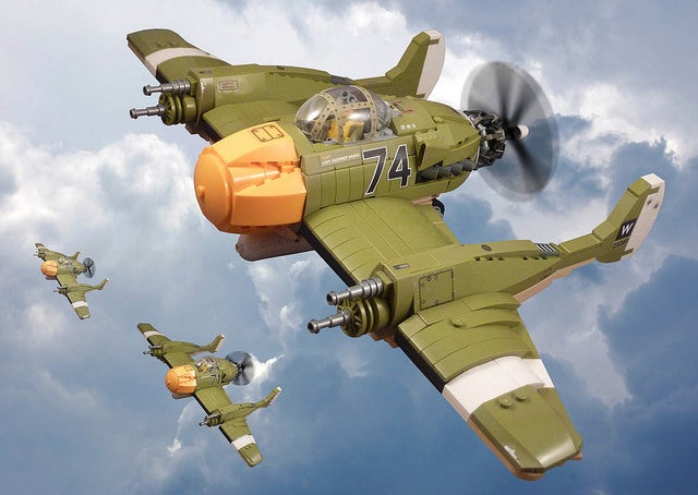The Next Best Thing To Crimson Skies Lego Kits