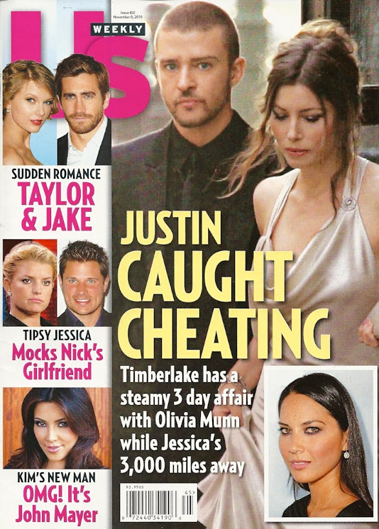 "This Week In Tabloids: Justin Timberlake & Olivia Munn's ""Amazing Sex"""