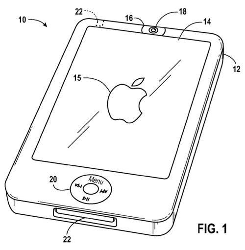 Apple Filing Shows Front-Facing Camera For Handsets