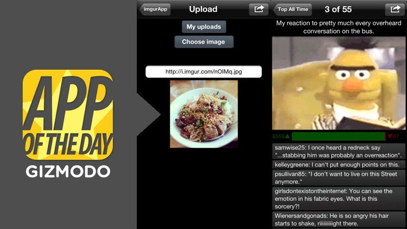 Imgur for iOS: Your Favorite Image-Upload Site, Finally in App Form
