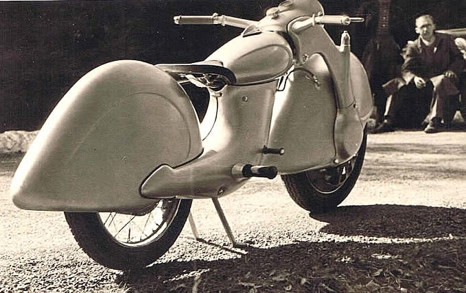 This Prototype Motorcycle Represented A Gloriously Backwards Future