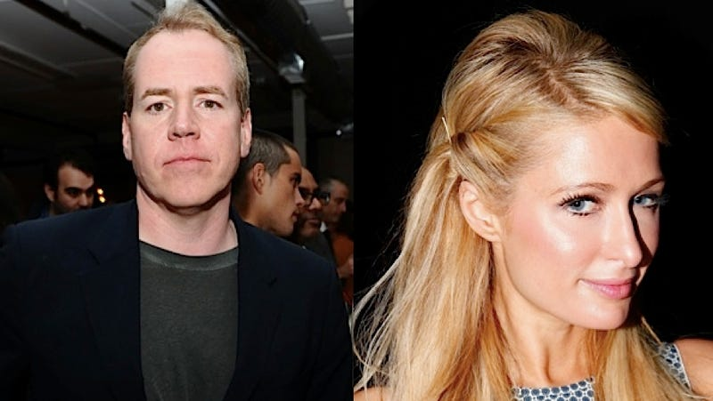 Chivalrous Gentleman Bret Easton Ellis Sort of Defends Paris Hilton's Grindr Commentary