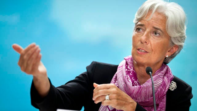 First Female Head of the IMF Smart and Sexy, But Mostly Sexy