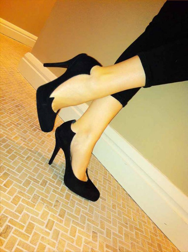 Celebs Show Off Their Fancy High Heels