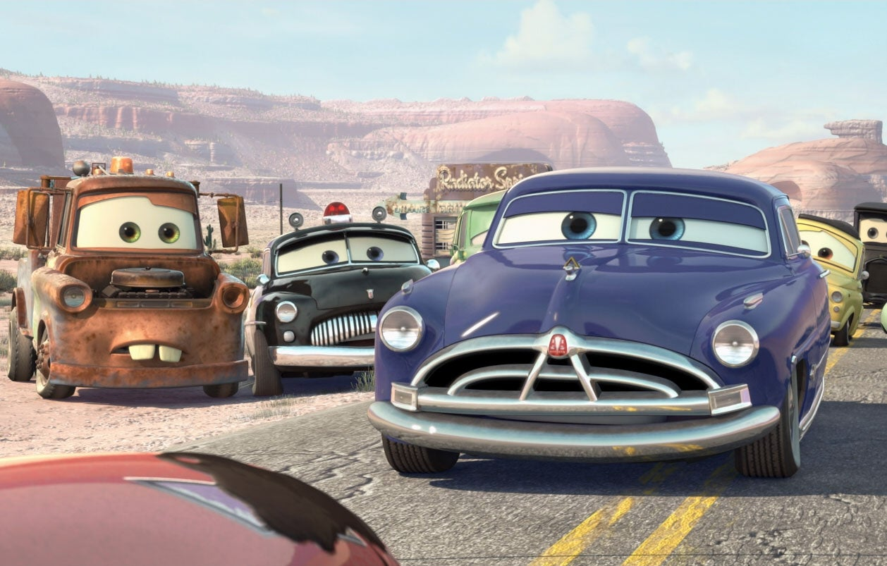 Is Doc Hudson Going To Be In Cars