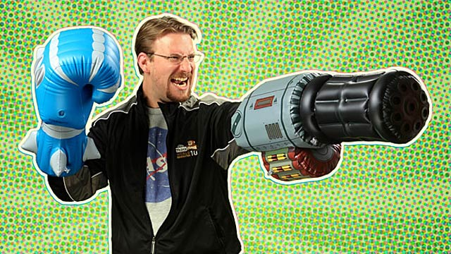 Inflatable Minigun Cannon: Minimal Imagination Required
