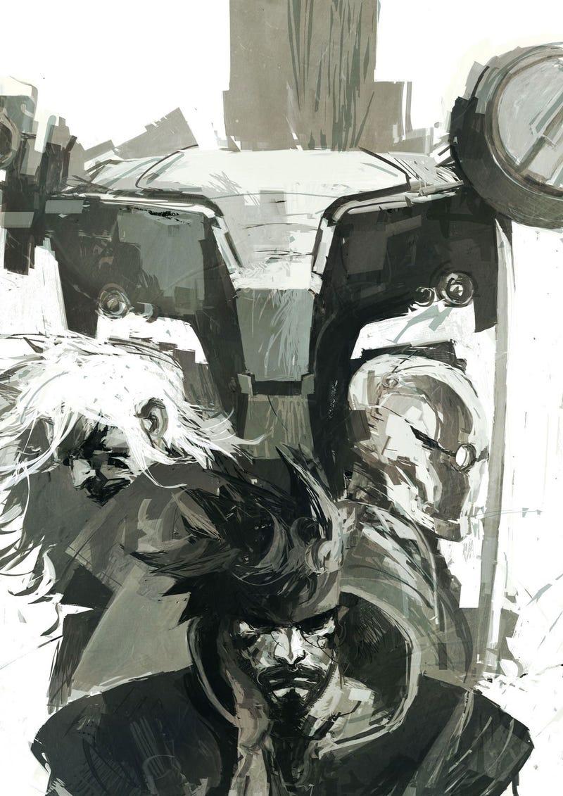 The Dark, Moody Metal Gear Art of Ashley Wood