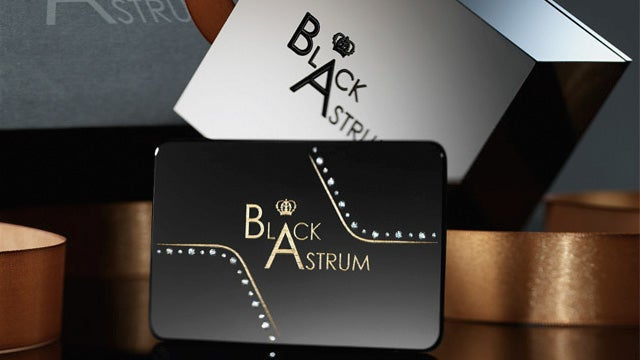 Ridiculous $1,500 Diamond Studded Business Cards
