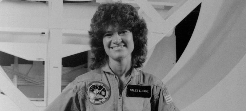 NASA Engineers Offered Sally Ride 100 Tampons for a 7 Day Space Mission
