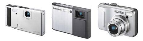 Samsung i80, i100 and S1060 Digital Cameras