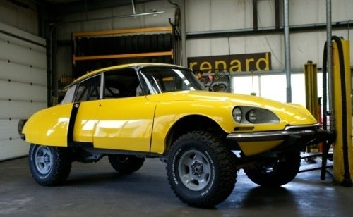 What Happens When You Cross A Land Cruiser And A Citroen DS?