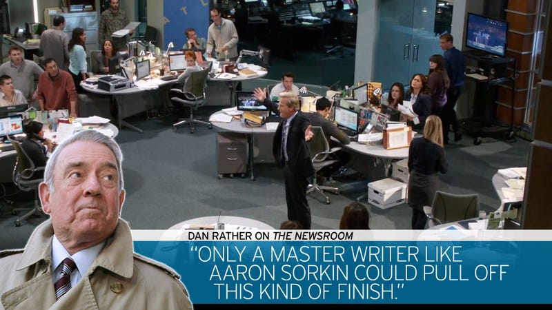 Dan Rather Is Answering Your Questions in Today's Newsroom Recap
