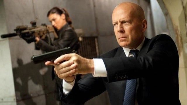Bruce Willis shoots all the things in the first G.I. Joe: Retaliation clip
