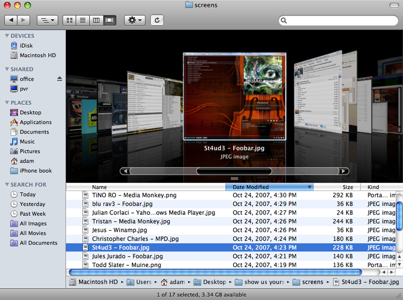 Leopard's Finder Makes It Easier to Find Your Files