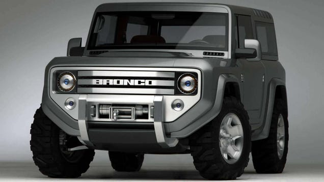 What Should A 2015 Ford Bronco Look Like?