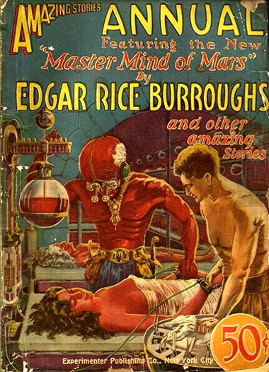 How Edgar Rice Burroughs became one of the twentieth century's biggest scifi authors