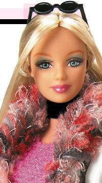 Barbie Goes To China