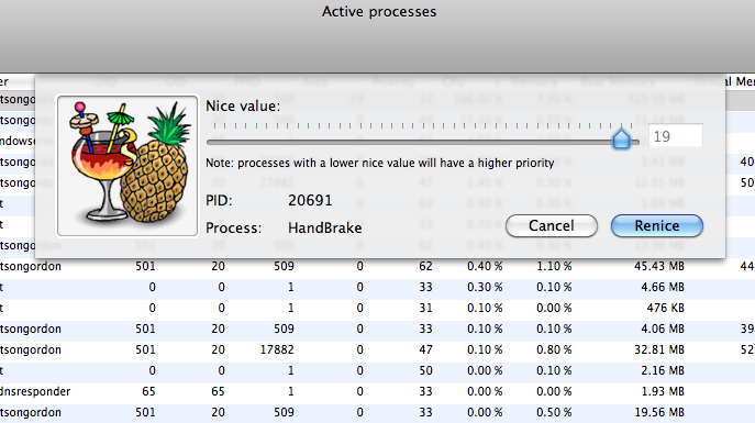 ProcessRenicer Changes Your Mac Apps' CPU Priority