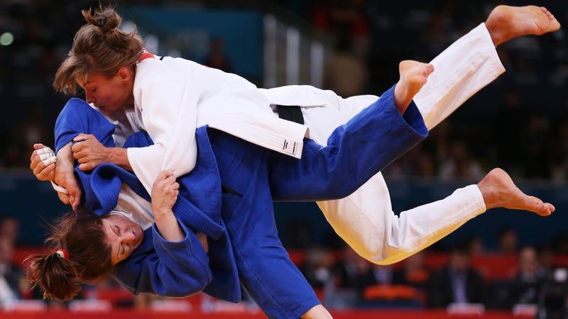 Fierce Women's Judo Competitors Offend One Man's Delicate Sensibilities