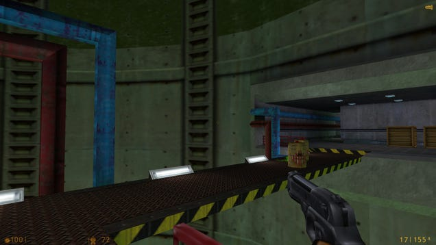 'Blast Pit' Is The Best Level In Half-Life
