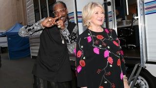 Martha Stewart Got High With Snoop Dogg