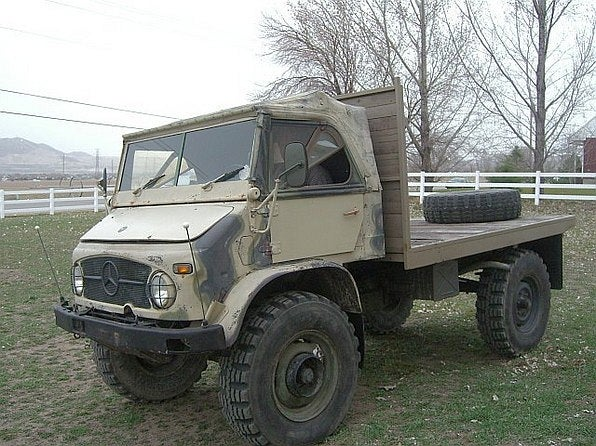 For $19,950, Here's a Unimog To Go With Your Unibrow