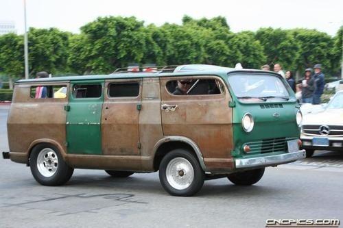 Slim's Wheelie Van