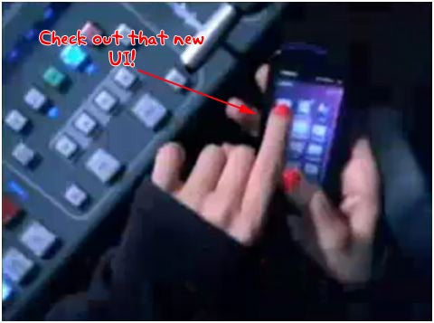 Nokia 5800 XpressMusic Pimped in Christina Aguilera Video