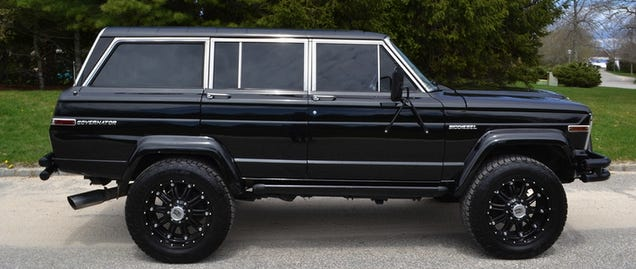 For 85000 This 1984 Jeep Grand Wagoneer Aint For No Girly Man