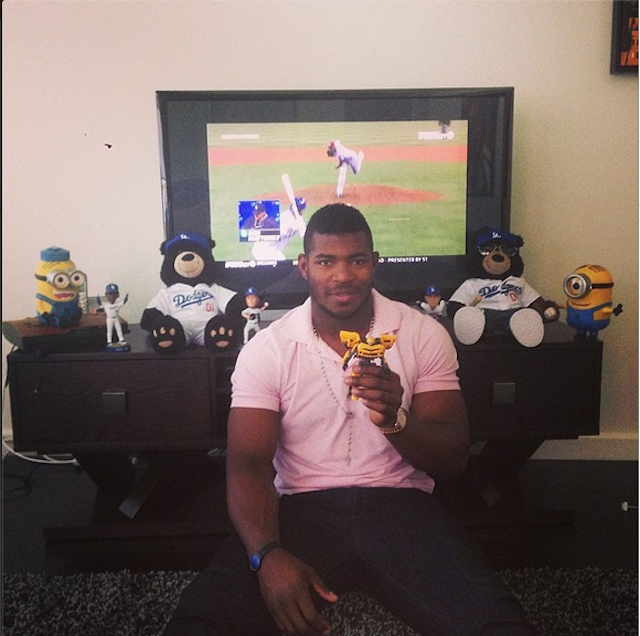 Yasiel Puig Is A Giant Six-Year-Old, And It's Great