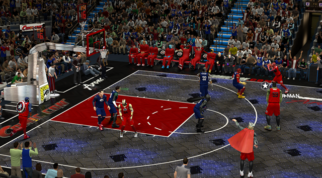 NBA 2K14 Mod Replaces Everyone With Superheroes