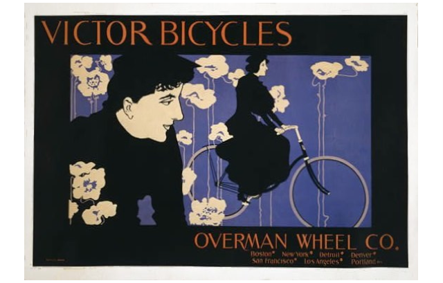 How Cyclists on Fixies Saved California's Mail Service 120 Years Ago