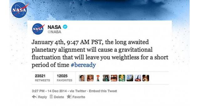 January 4th nasa planetary alignment